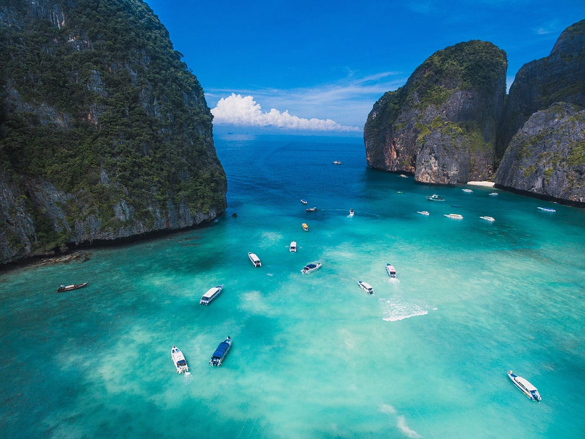 Phi Phi Island of Thailand