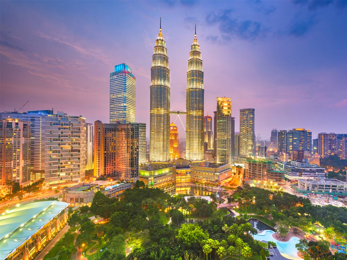 Petronas Twin Towers, Kualalampur, Malaysia
