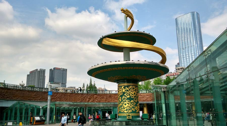Tianfu Square in Chengdu