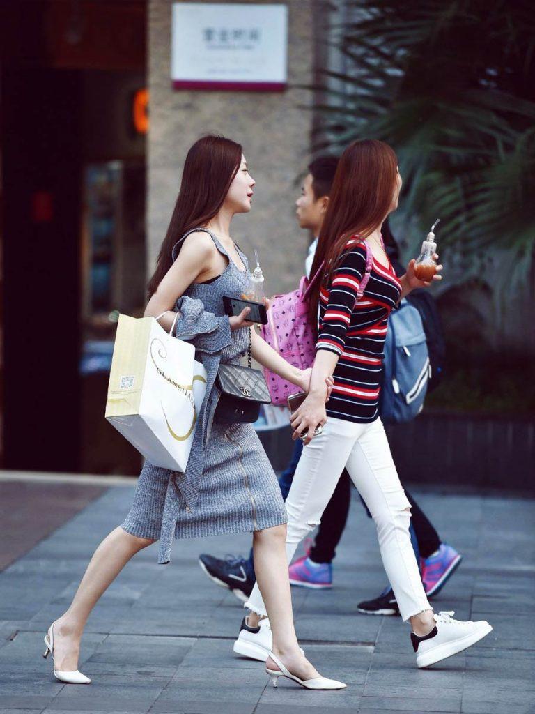Chunxi Road of Chengdu