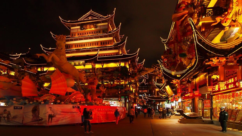 City God Temple in Shanghai
