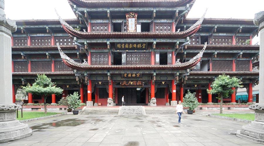 Chengdu Monastery Temple