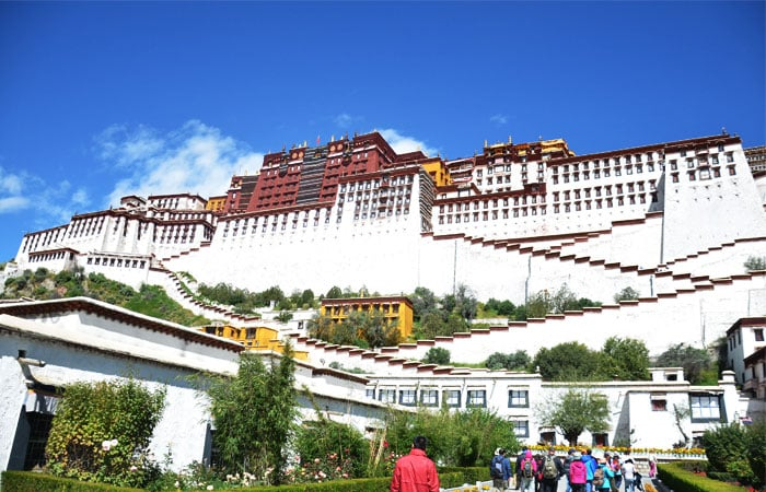 Potala Palace View