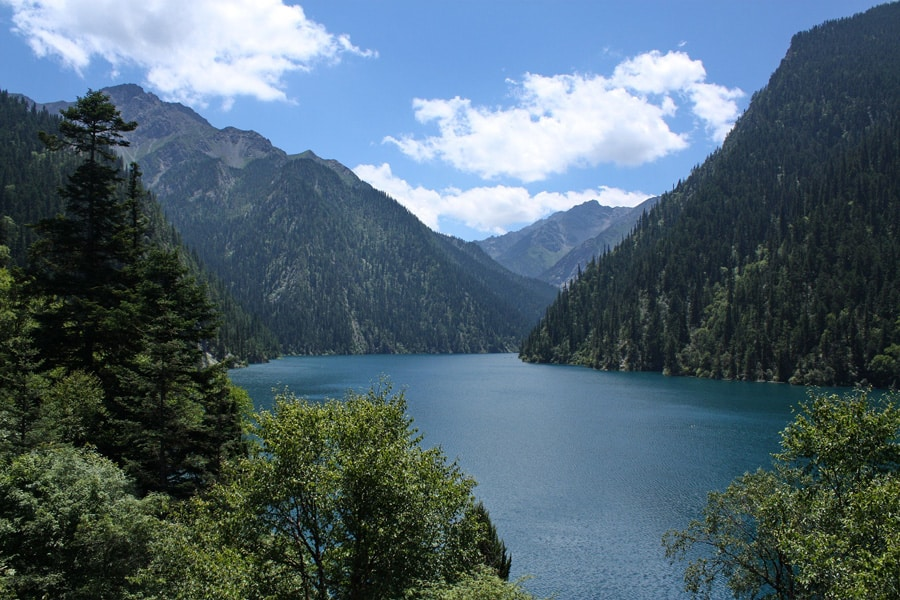 Jiuzhaigou Park in China