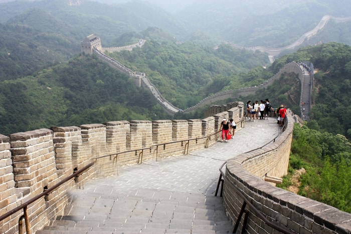 Badaling Great Wall in China
