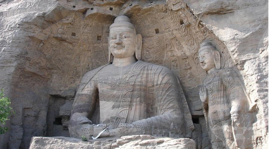 Datong Yungang Grottoes in China