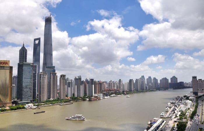 The Waitan in Shanghai