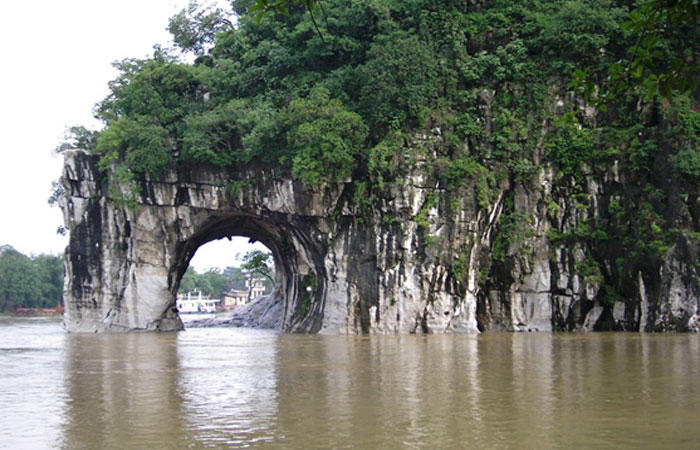 Elephant Trunk Hill in Li River