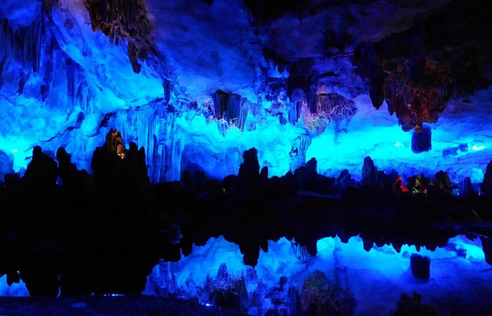Guilin Reed Flute Cave in China