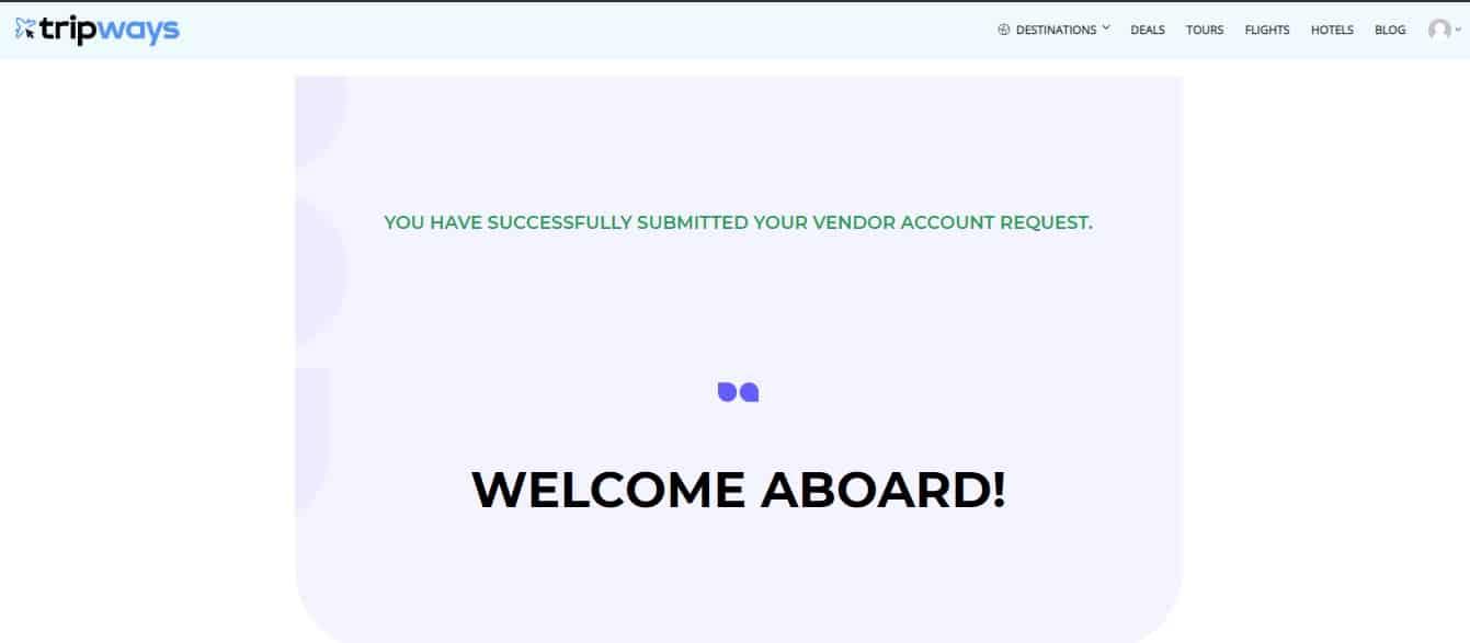 Vendor Registration 4