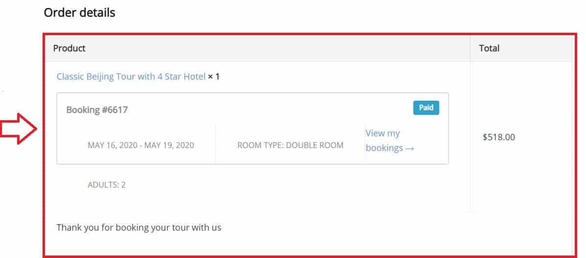 Booking a Tour 1