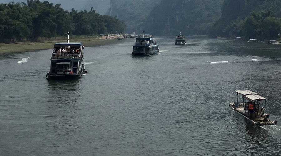 Li River Cruise in Guilin of China