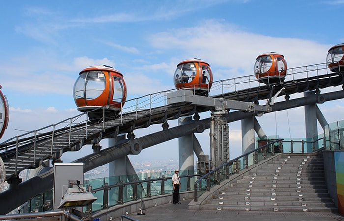 Bubble Tram in Canton Tower