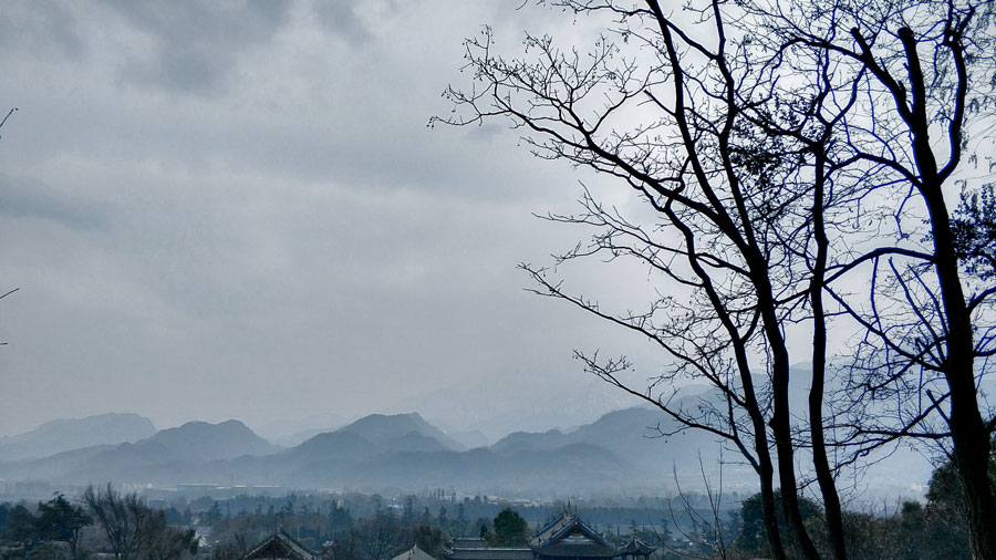 Dujiangyan City View