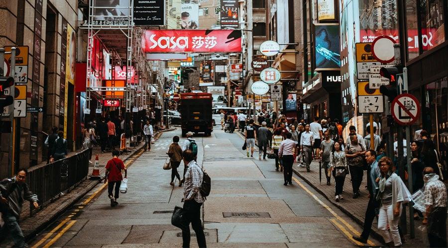 Tsim Sha Tsui in Hong Kong