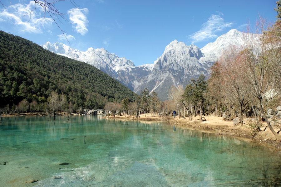 The Jade Dragon Snow Mountain Scenery