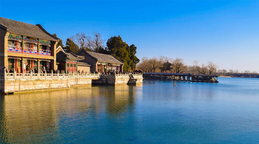 Kunming Lake in Summer Palace (Beijing)