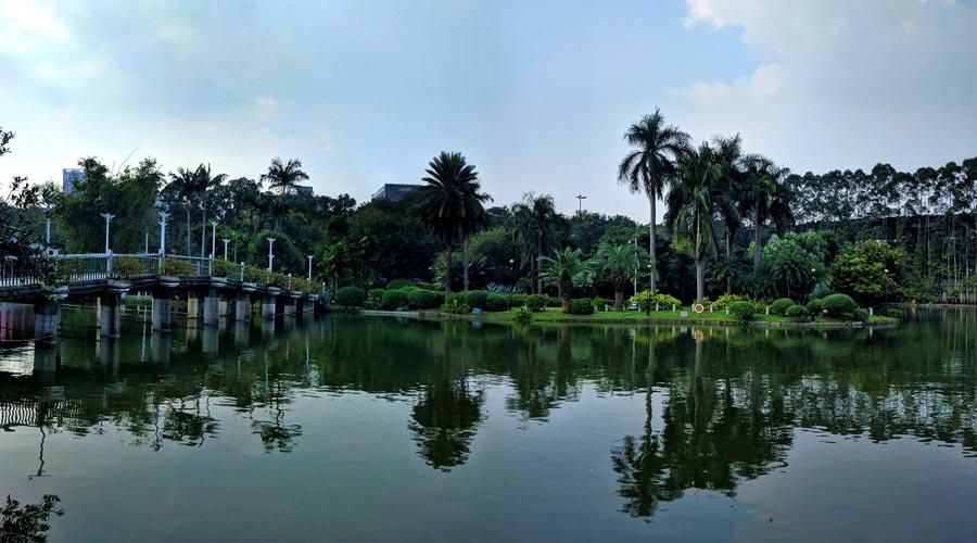 Yuexiu Park in Guangzhou