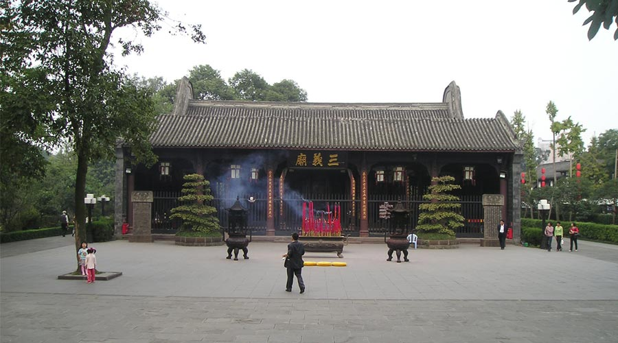 Wuhou Temple of Chengdu 1