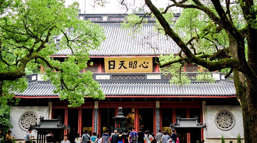 The Yue Fei Temple in Hangzhou