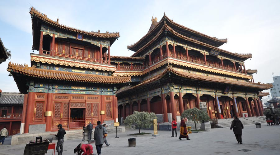 Yonghe Temple in Beijing 1