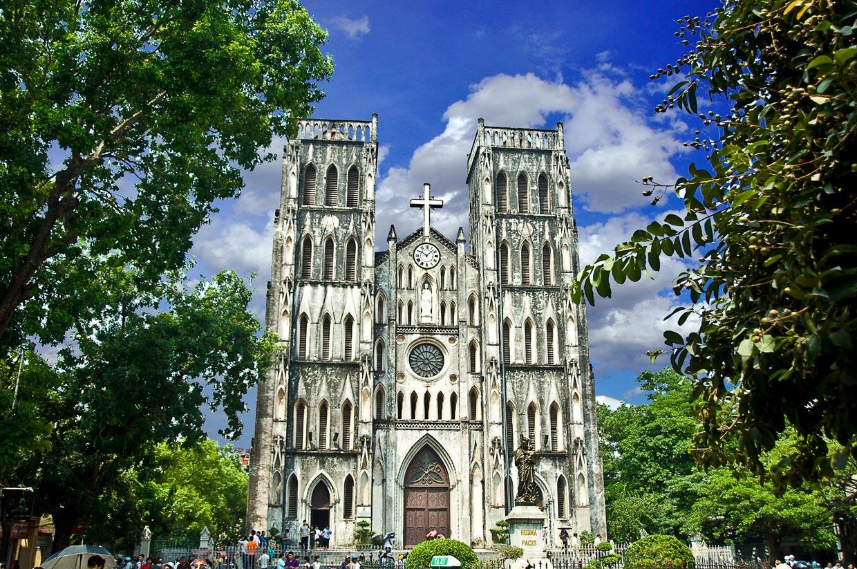 St. Joseph Cathedral in Hanoi
