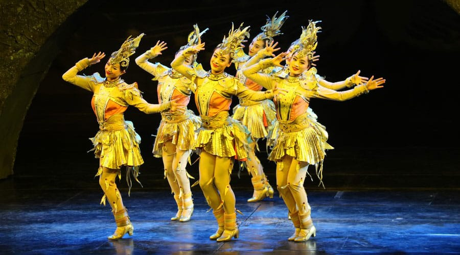 Golden Mask Dynasty Show in Beijing