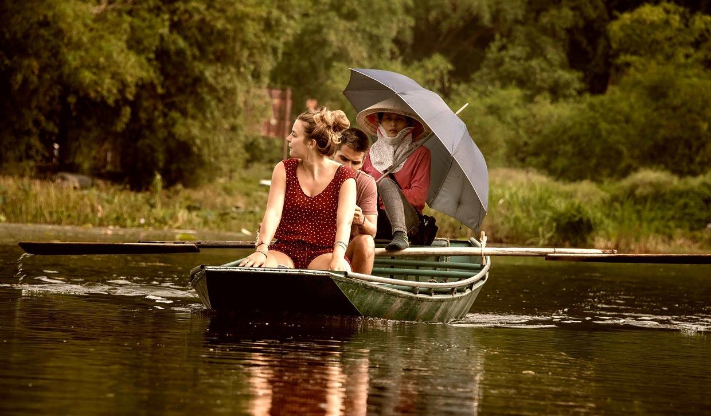 Boat Ride in Tam Coc