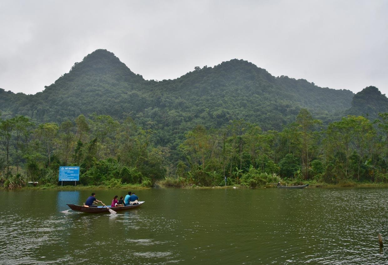Perfume River in Vietnam