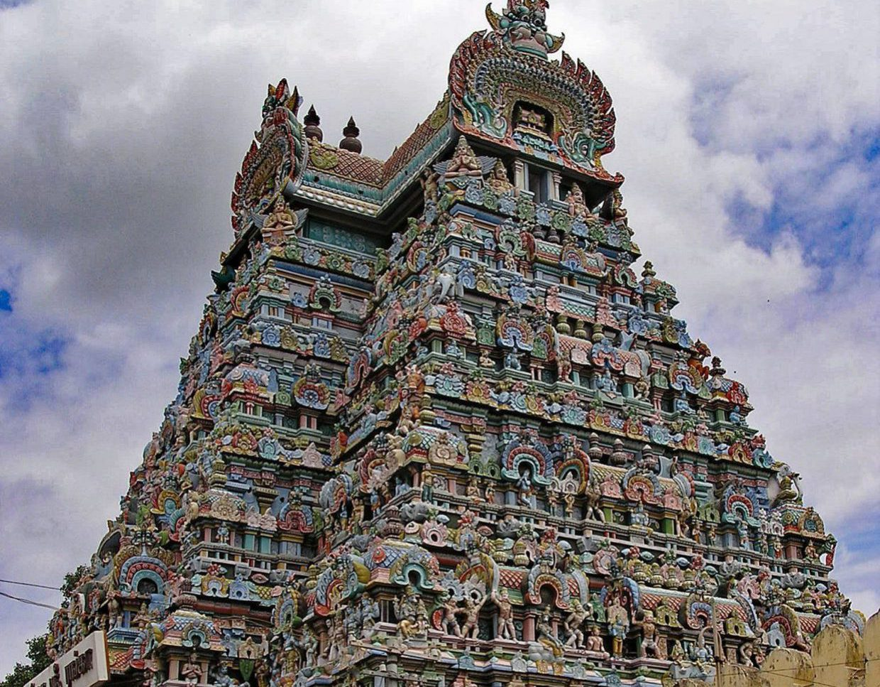 Bangalore to Across The Temples in South India 2