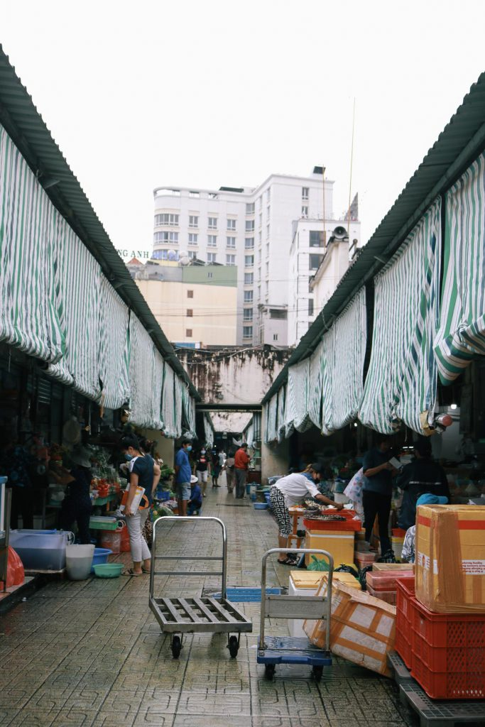 Ben Thanh Market in Ho Chi Minh City 1