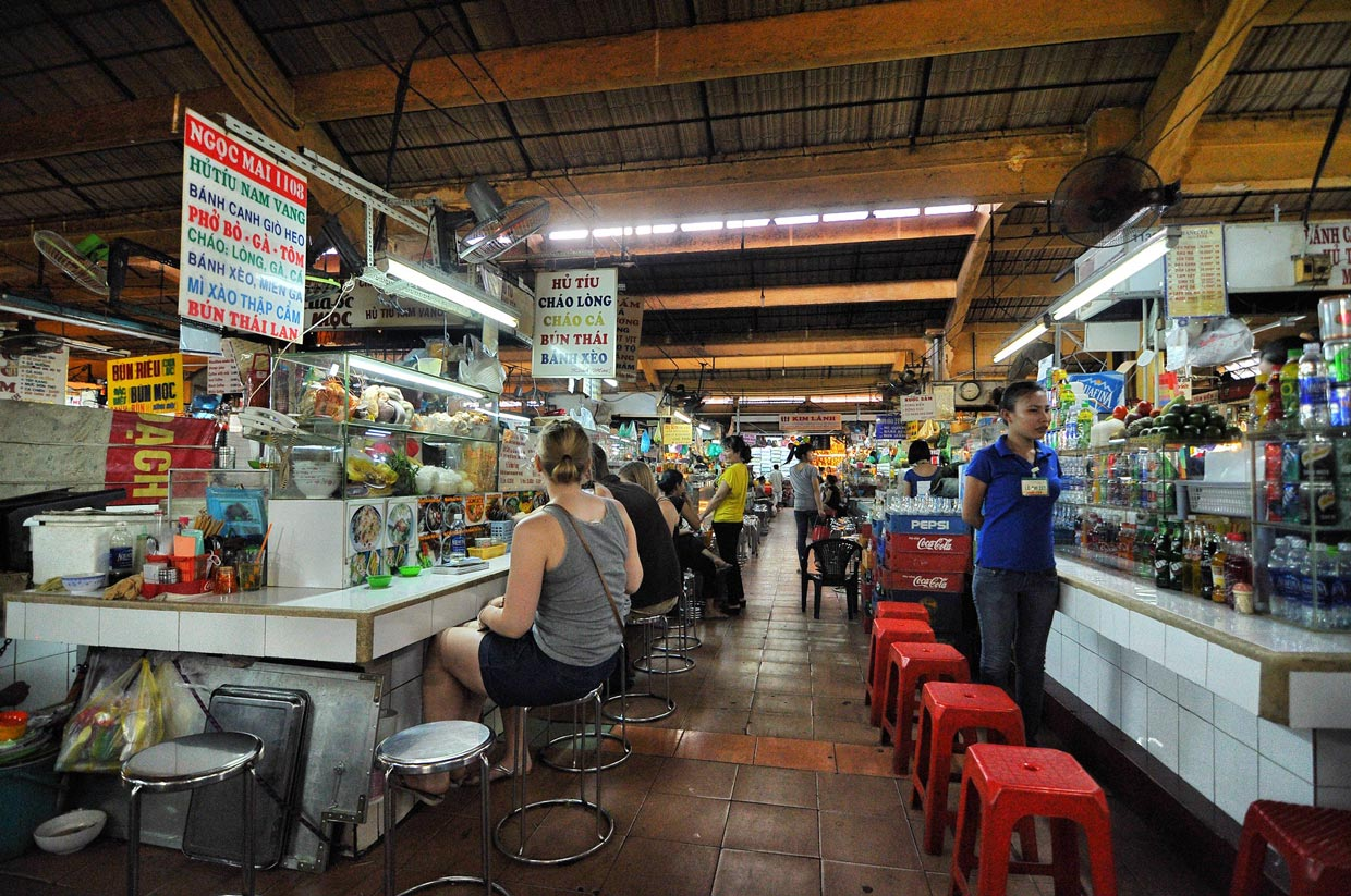 Ben Thanh Market in Ho Chi Minh City 2