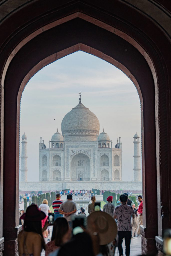 Taj Mahal in India 3