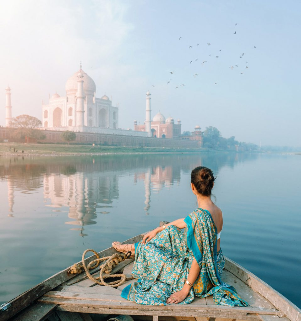 Taj Mahal in India 4