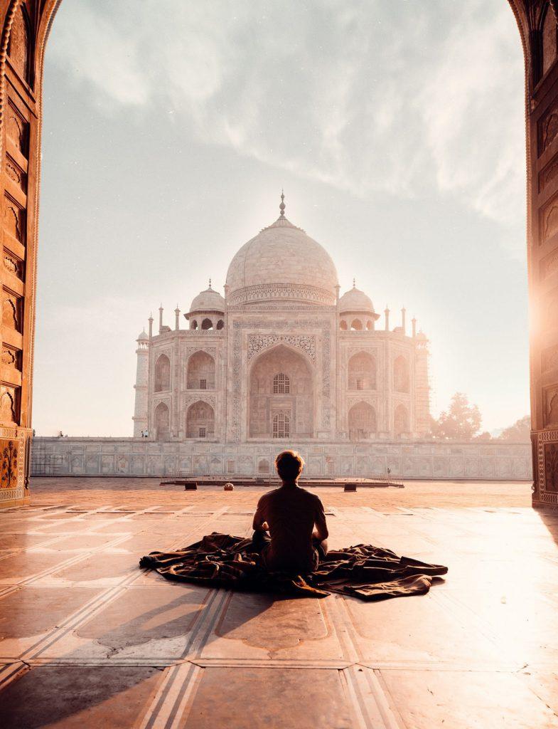 Taj Mahal in India 6