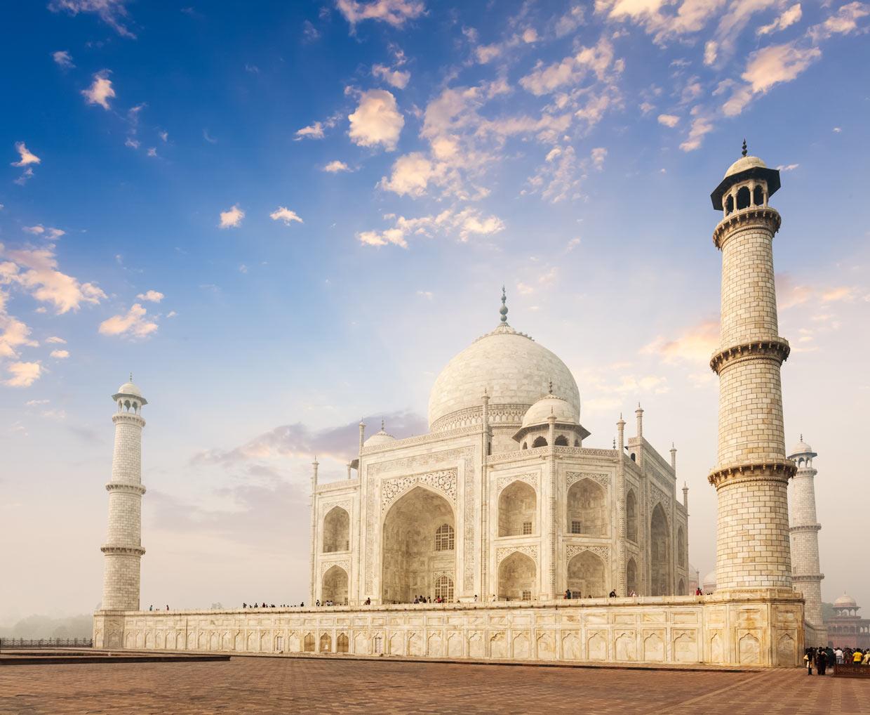 Taj Mahal in India 7