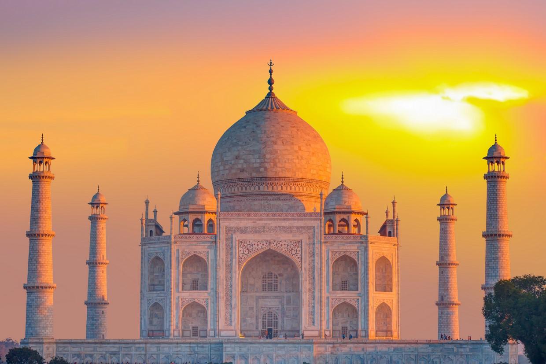 Taj Mahal in India 2