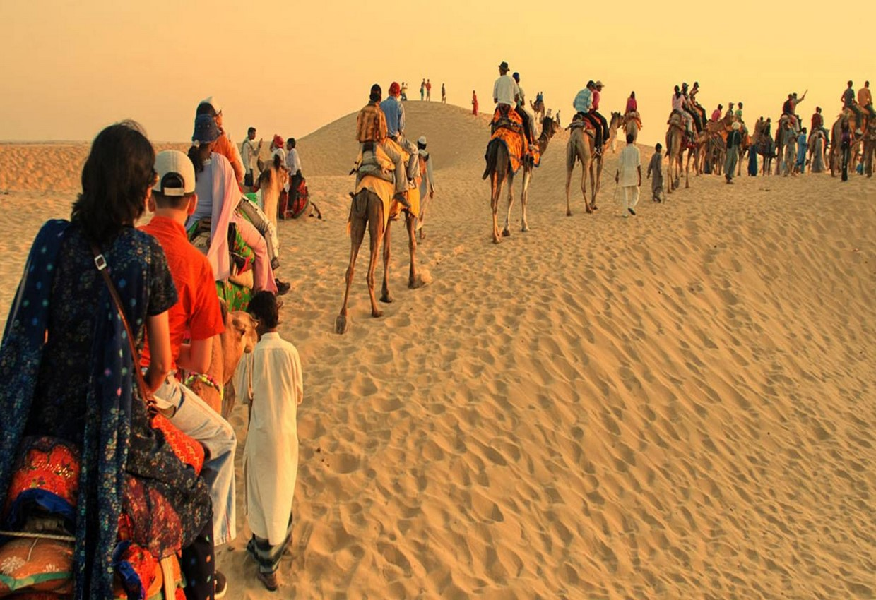 Colors of Rajasthan with Romance of the Desert