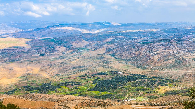 Mount Nebo in Jordan