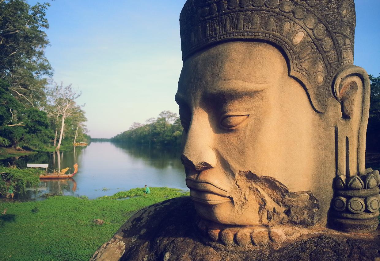 Misty Cambodia By Land 1