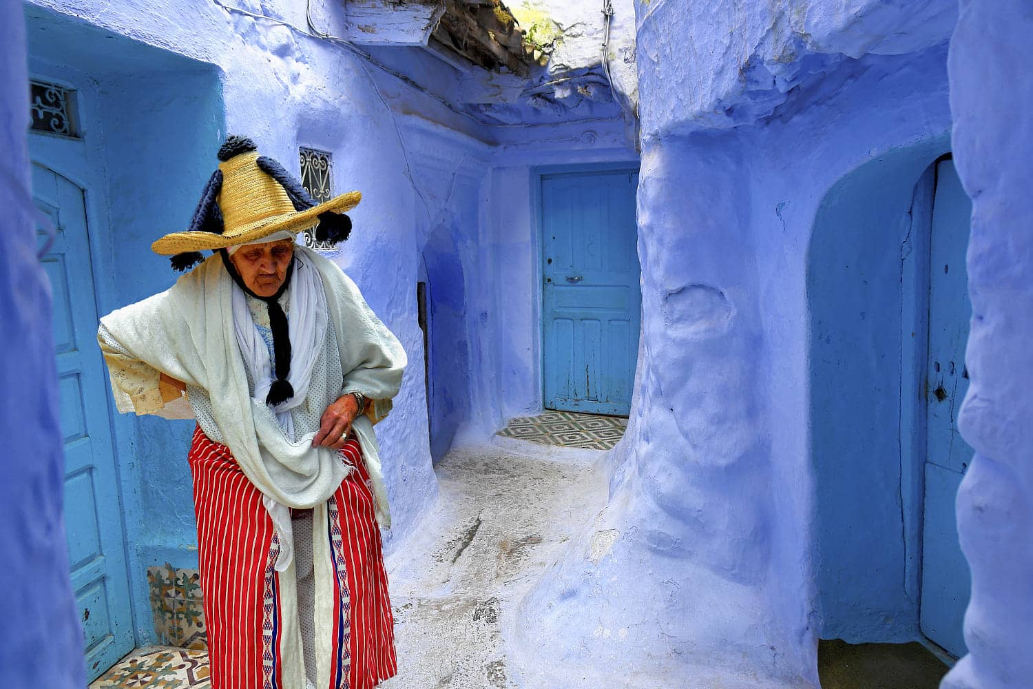 Tangier – Chefchaouen – Erg Chebbi and Marrakech