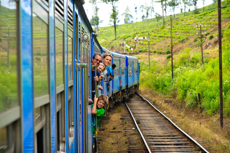 Take a Hill Sri Lanka Journey on the Rail Tracks 1