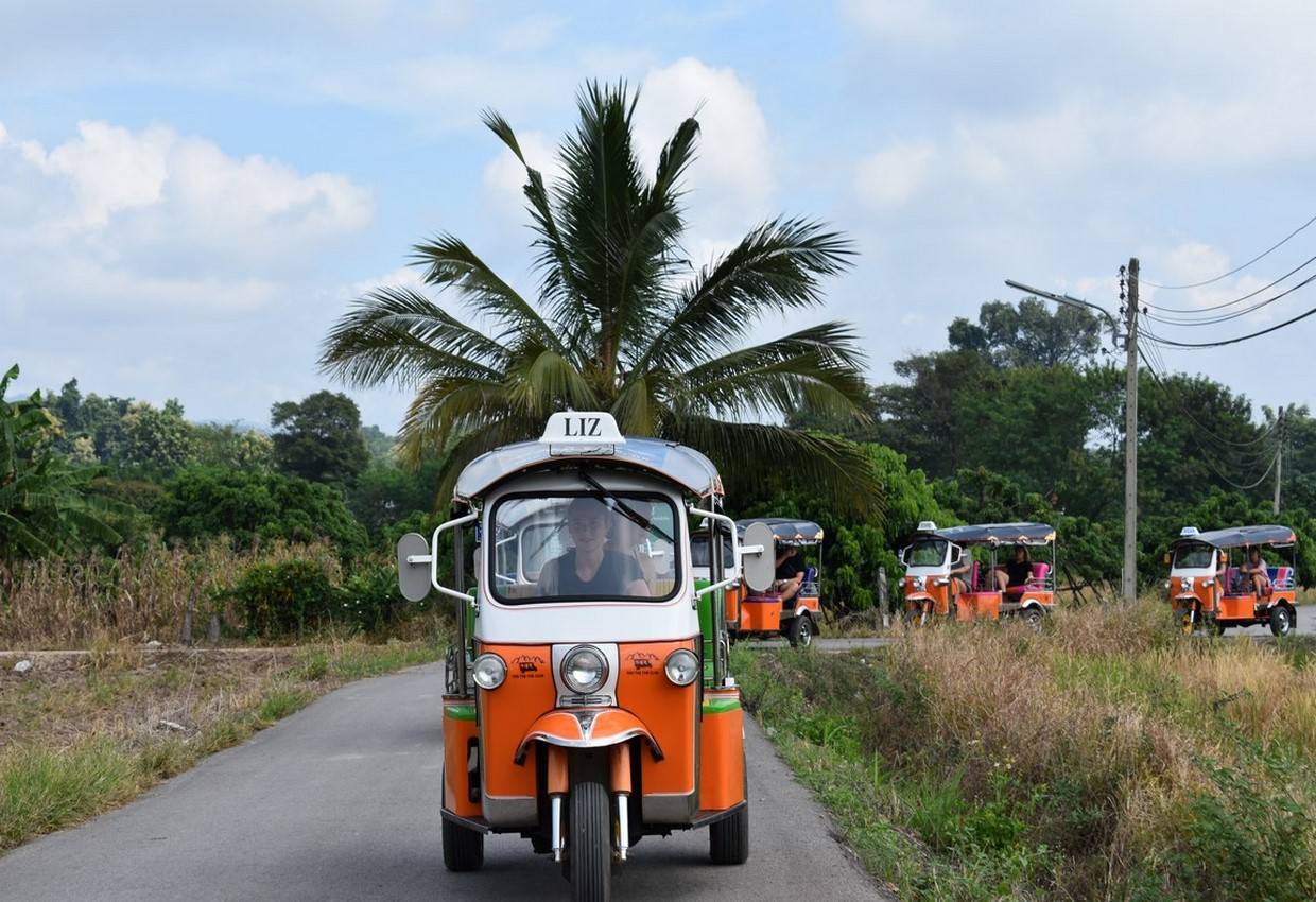 Tuk Tuk Adventure in Northern Thailand - Chauffeur Driven 1
