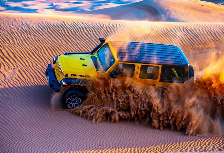 VIP Desert Jeep Tour - Jeep Wrangler Safari 7