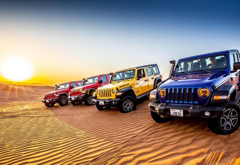 VIP Desert Jeep Tour - Jeep Wrangler Safari 1