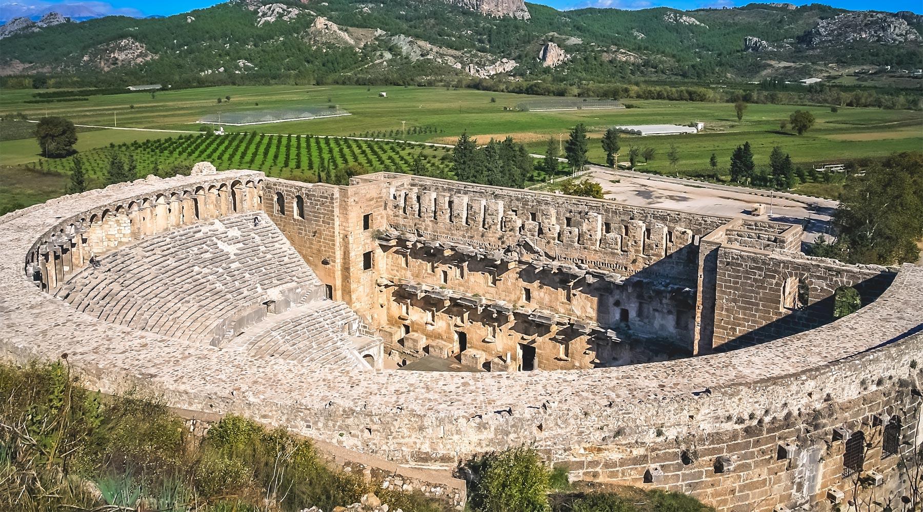 Aspendos Theatre – A Turkish Time Machine