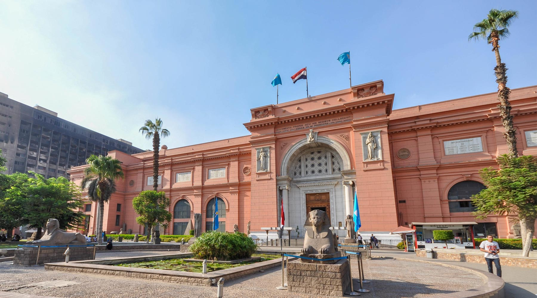 The Egyptian Museum in Cairo 1