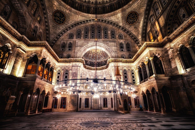 Blue Mosque Architecture and Interior