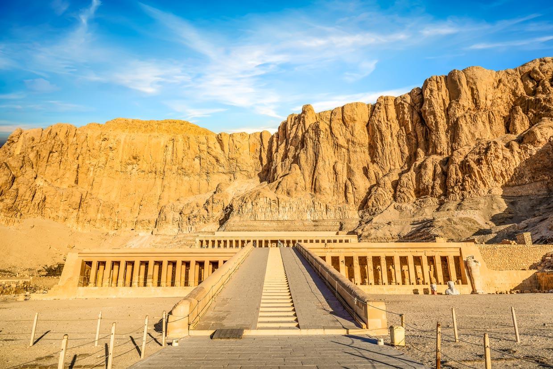 Queen Hatshepsut's Temple in Egypt