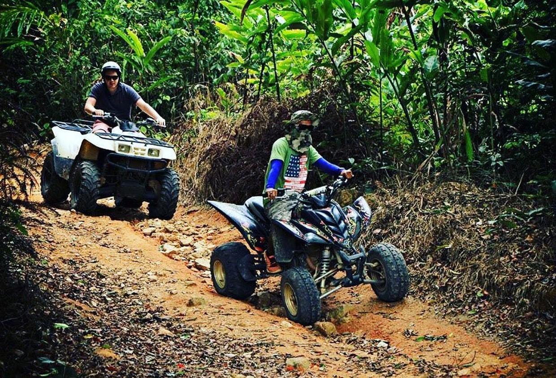 Samui Novice Waterfall ATV Tour 3